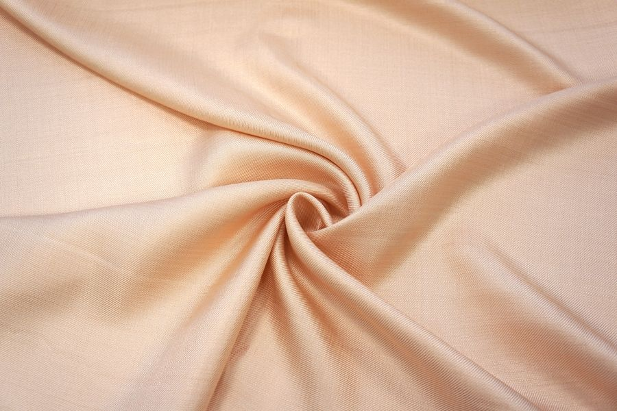 Вискоза костюмная нарядная кремово-персиковая PRT-J30 27031907