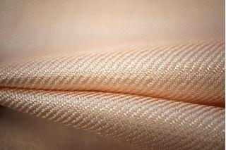 Вискоза костюмная нарядная кремово-персиковая PRT-H4-003 27031907