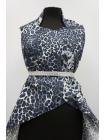 Поплин синий леопард Roberto Cavalli PRT-A50 27031929