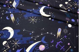 Костюмно-плательная ткань созвездия и киты PRT1 - F4 27031934