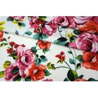 Трикотаж вискозный цветочный Anna Rachele PRT-Z23 28031921