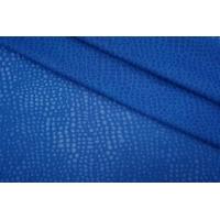 Трикотаж вискозный ажурный синий PRT-N4 02051901