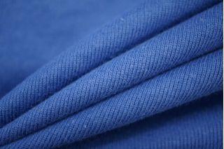 Трикотаж рибана синий PRT-D5 02051904