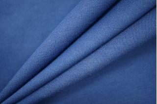 Джерси тонкий вискозный синий PRT-D6 02051909