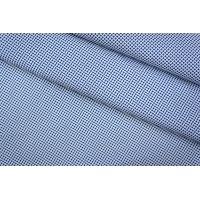 Поплин сорочечный ромбы синие PRT-B2 02051910