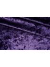 ОТРЕЗ 2,25 М Бархат-стрейч мраморный фиолетовый аметист PRT-E2 09051927-1