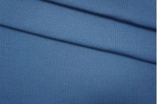Трикотаж кашкорсе синий PRT-D5 09051929