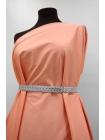 Сатин костюмно-плательный персиковый PRT-C30 24031905