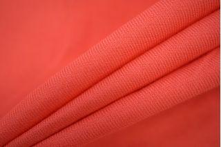 Хлопок костюмно-плательный розовый коралл PRT 092-C7 25031906