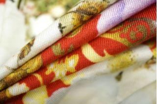 Трикотаж вискозный цветы и бабочки Cavalli PRT-L2 28031904