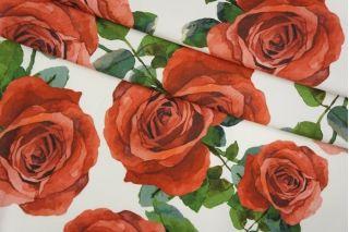 Трикотаж хлопковый розы Monnalisa PRT-M4 28031905