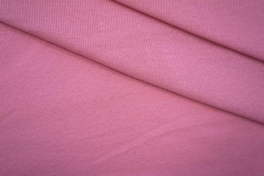 Трикотаж рибана розовый PRT-M3 04051938