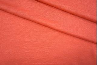 Тонкий трикотаж насыщенно-коралловый PRT-D6 04051943