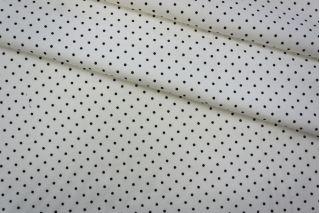 Тонкий трикотаж белый в горошек PRT-D6 05051929
