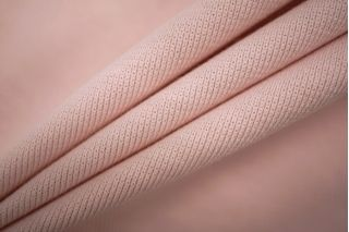 Трикотаж рибана бледно-розовый PRT-D5 04051932