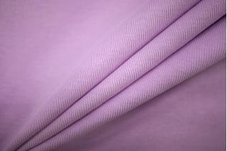 Трикотаж рибана футболочный светло-лиловый PRT-D2 05051914
