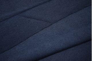 "Трикотаж ""чулок"" темно-синий рибана PRT L4-098  03041904"