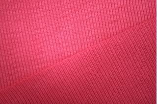"Трикотаж ""чулок"" розовая малина рибана PRT L5 108 03041922"