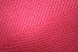"Трикотаж ""чулок"" розовая малина рибана PRT 108 03041922"