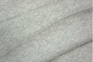 "Трикотаж ""чулок"" светло-серый меланж кашкорсе PRT 097-J5 03041924"