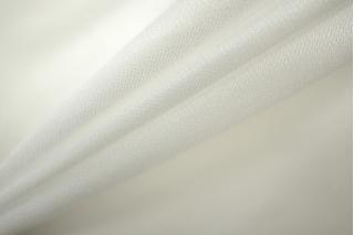 Блузочный шелковый сатин белый PRT 076-H3 22031905