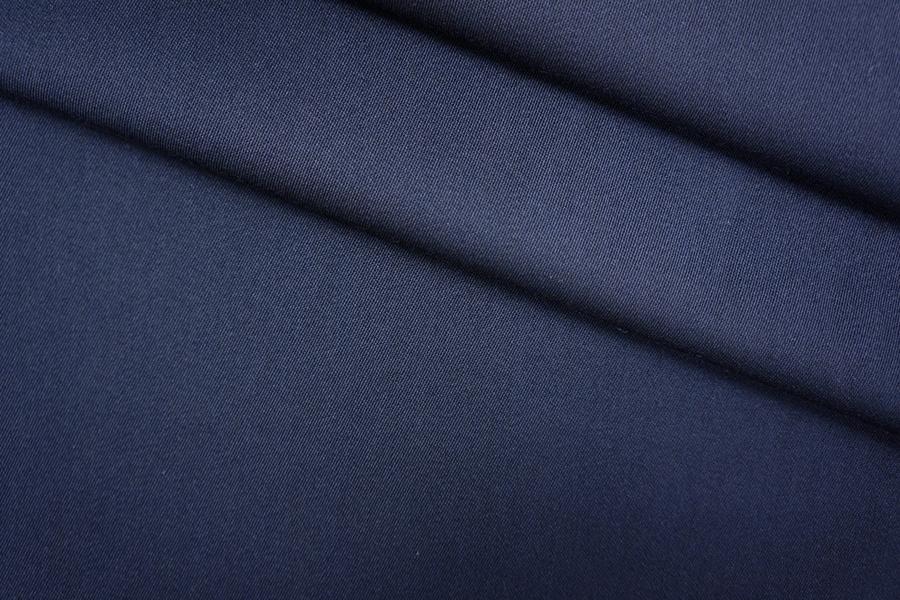 ОТРЕЗ 1.9 М Костюмная шерсть темно-синяя PRT-W5 20051903-1