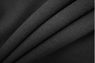 Креп плательный черный PRT-H5 108  20051910