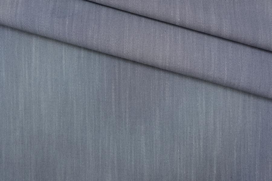 Хлопок костюмно-плательный сине-белый PRT-G4 20051918