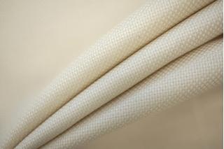 Рогожка шерстяная плательная слоновая кость PRT-F5 071 21051909