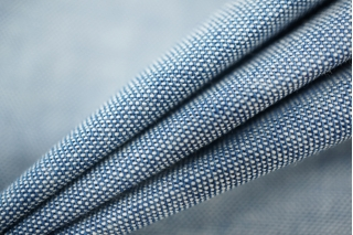 Тонкий лен с хлопком голубой PRT-G5 01051919
