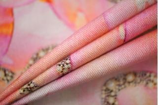 Хлопок костюмно-плательный розовый Daniela Dallavalle PRT-C5 03051929