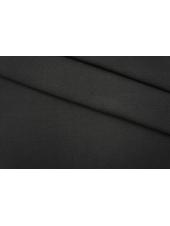Трикотаж черный рибана PRT-D5 04051904