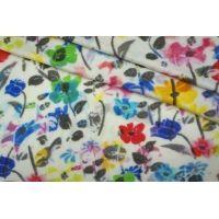 Трикотаж вискозный цветы на белом PRT-H2 05051920