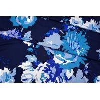 Трикотаж вискозный синие цветы PRT-H2 05051932