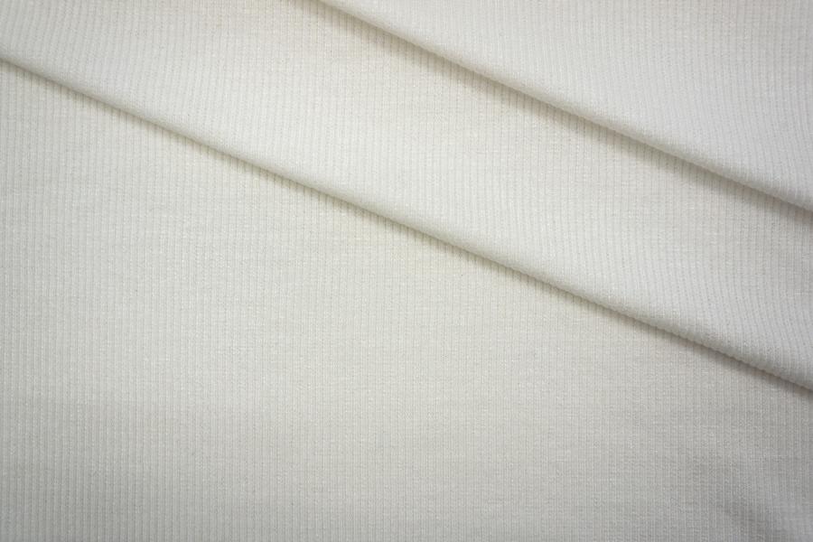 ОТРЕЗ 2 М Трикотаж кашкорсе белый PRT-H2 05051934-1