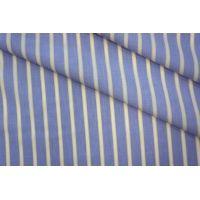Поплин сорочечный полоска желтая PRT-B2 01051915