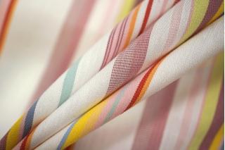 Хлопок рубашечный в полоску разноцветная PRT-B3 01051917