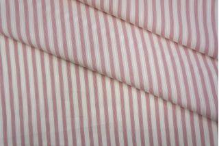 Поплин сорочечный полоска красная PRT-B2 02051932