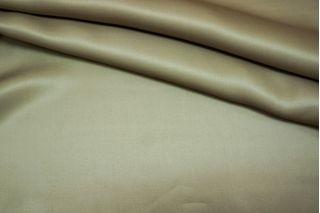 Плотный шелк оливковый PRT1 21071705