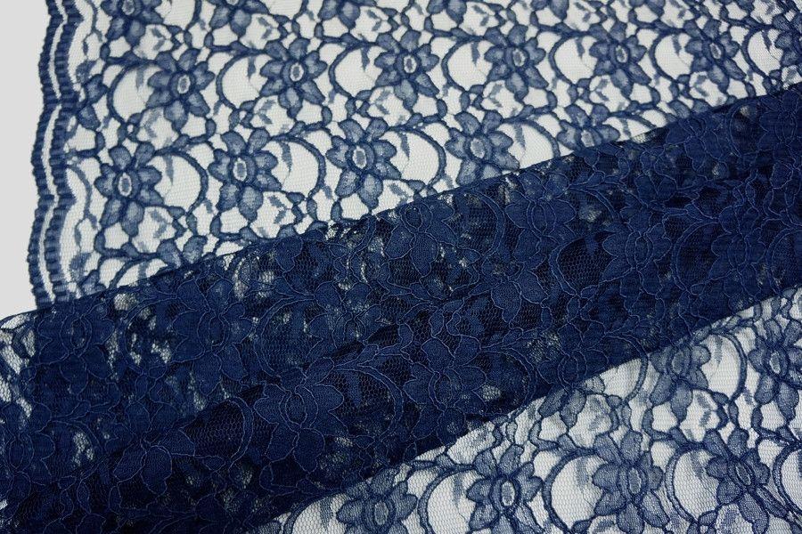 Кружево темно-синее PRT2-J3 1031738
