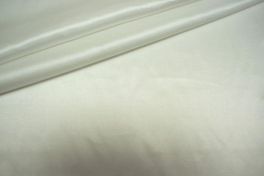 Сатин блузочный с шелком молочный PRT 8041701