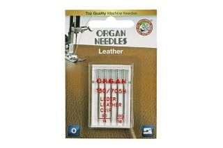 Иглы Organ для кожи Blister 5 шт 90-100 290419-L