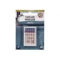 Иглы Organ для джинсы Blister 5 шт 90-100 290419-J