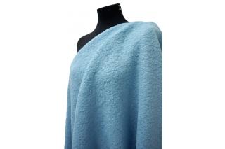Лоден буклированный голубой MX1 25101724