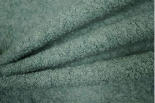 Лоден буклированный серо-зеленый MX1 25101725