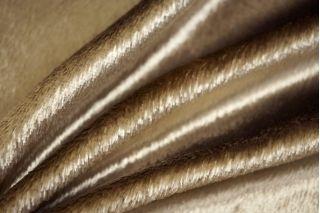 Бархат вискозный золотисто-бежевый PRT-J5 1031762