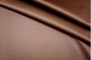 Атлас хлопковый коричневый PRT 27041715