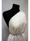 Сатин костюмно-плательный белый PRT 27041730
