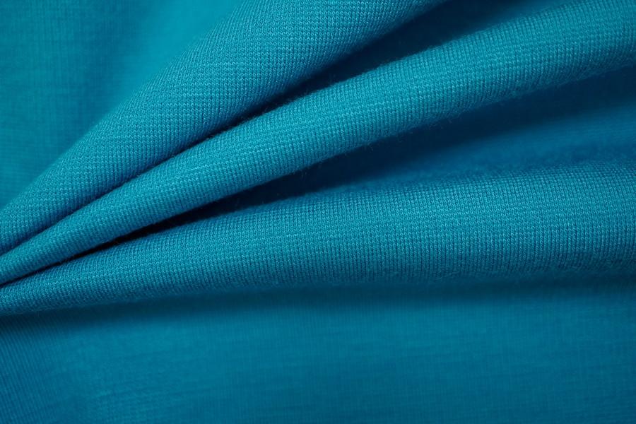 Джерси однотонный голубой MX1-D5 24091511