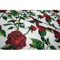 Трикотаж фактурный розы UAE-А7 27121753